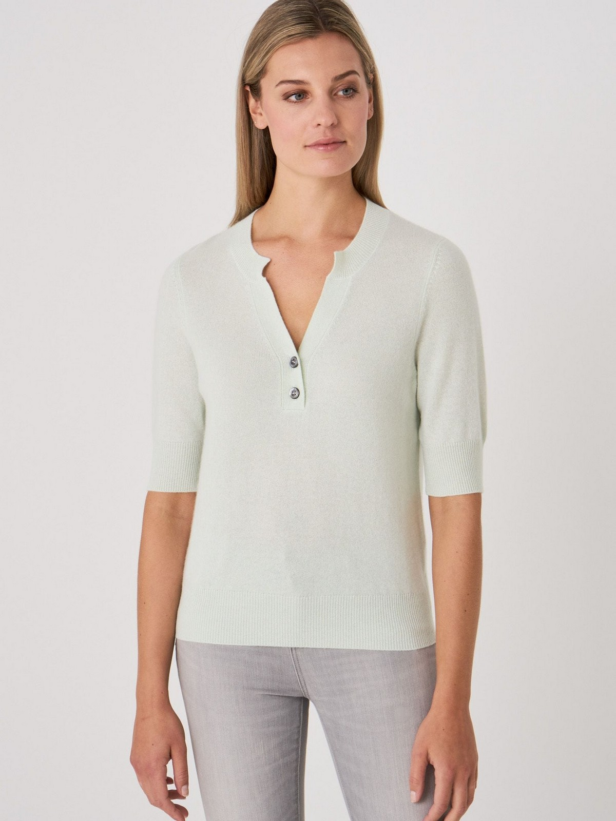 Poloshirt 2 knopjes - 100565 - Repeat