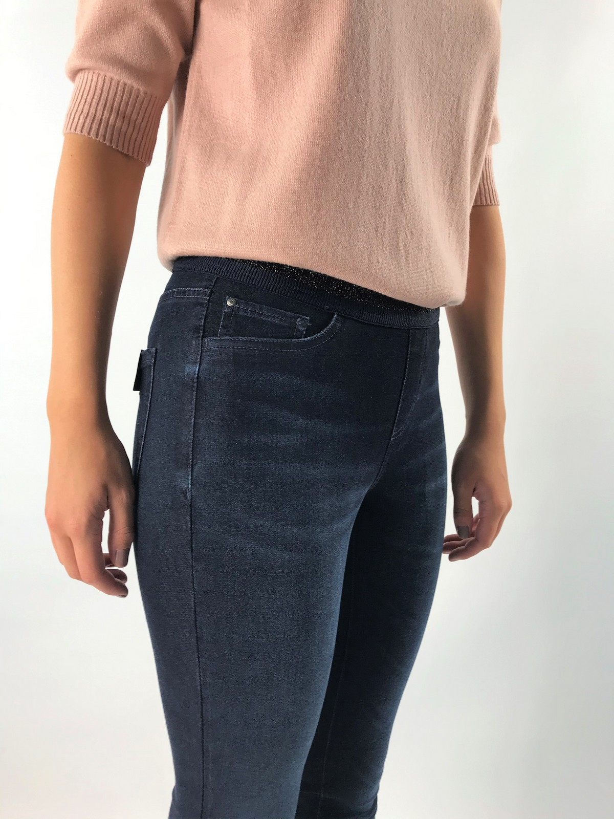 Cambio - Philia 9125 - jeans smal op elastiek