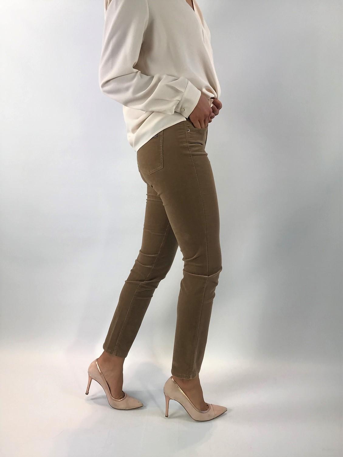 Cambio - Pina 7140 - broek velours camel