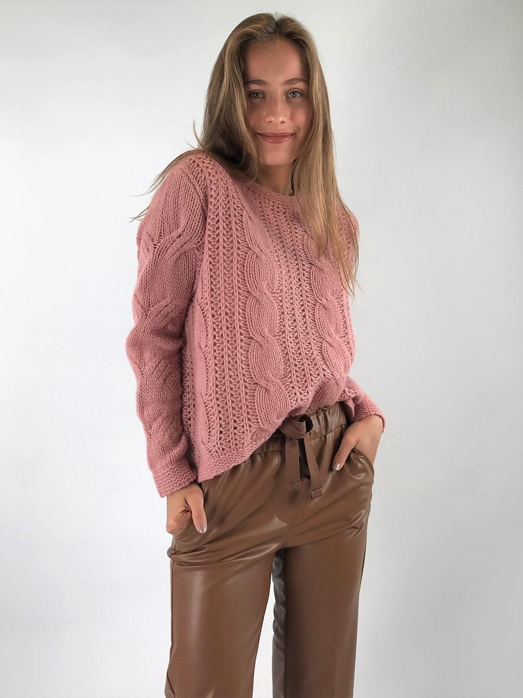 Hemisphere - Pull cashmere zijde