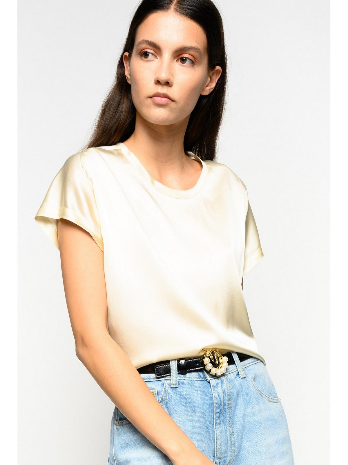 Pinko - Shirt zijde korte mouw